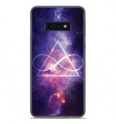 Coque en silicone Samsung Galaxy S10e - Infinite Triangle