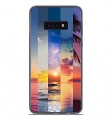 Coque en silicone Samsung Galaxy S10e - Aloha