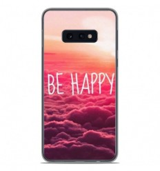 Coque en silicone Samsung Galaxy S10e - Be Happy nuage