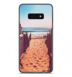Coque en silicone Samsung Galaxy S10e - Chemin de plage