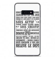 Coque en silicone Samsung Galaxy S10e - Citation 11