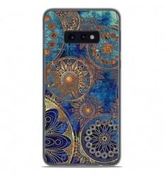 Coque en silicone Samsung Galaxy S10e - Mandalla bleu