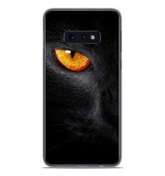 Coque en silicone Samsung Galaxy S10e - Oeil de Panterre