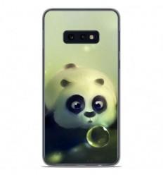 Coque en silicone Samsung Galaxy S10e - Panda Bubble