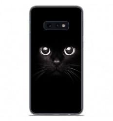 Coque en silicone Samsung Galaxy S10e - Yeux de chat