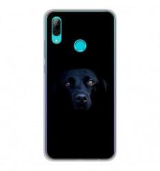 Coque en silicone Huawei P Smart 2019 - Chien noir