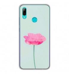 Coque en silicone Huawei P Smart 2019 - Fleur Rose