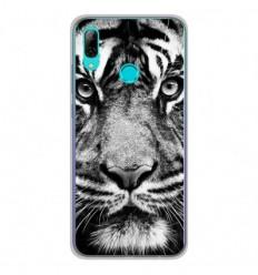 Coque en silicone Huawei Honor 10 Lite - Tigre blanc et noir