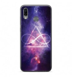 Coque en silicone Huawei Honor Play - Infinite Triangle