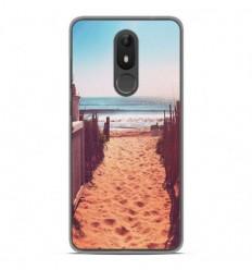 Coque en silicone Wiko View Lite - Chemin de plage