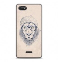 Coque en silicone Wiko Harry 2 - BS Cool Lion
