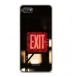 Coque en silicone Wiko Harry 2 - Exit