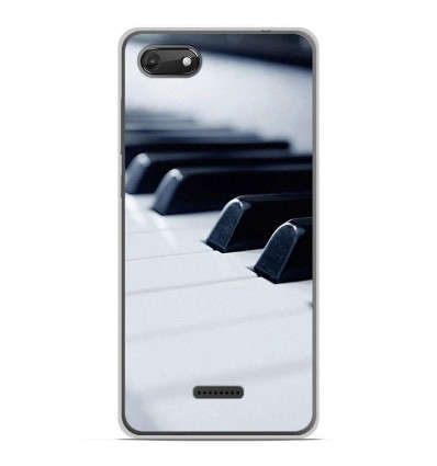 Coque en silicone Wiko Harry 2 - Piano