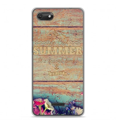 Coque en silicone Wiko Harry 2 - The best summer