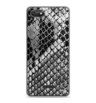 Coque en silicone Wiko Harry 2 - Texture Python