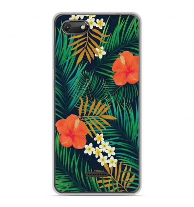 Coque en silicone Wiko Harry 2 - Tropical