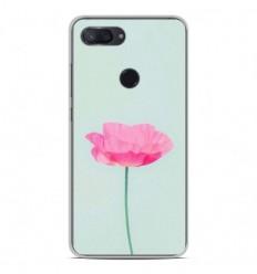 Coque en silicone Xiaomi Mi 8 Lite - Fleur Rose