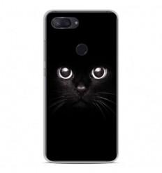 Coque en silicone Xiaomi Mi 8 Lite - Yeux de chat