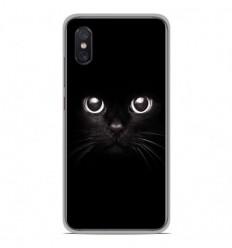 Coque en silicone Xiaomi Mi 8 Pro - Yeux de chat