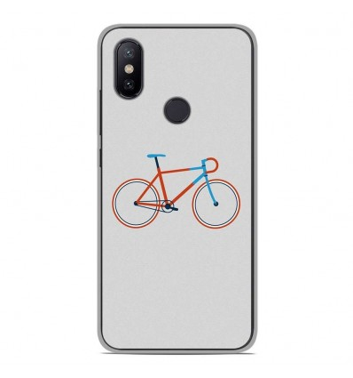 Coque en silicone Xiaomi Mi A2 Lite - Bike color Hipster