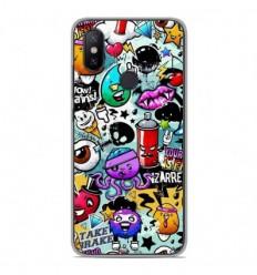 Coque en silicone Xiaomi Mi A2 Lite - Graffiti 2