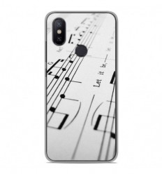 Coque en silicone Xiaomi Mi A2 Lite - Partition de musique