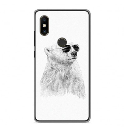 Coque en silicone Xiaomi Mi Mix 2S - BS Sunny bear