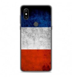 Coque en silicone Xiaomi Mi Mix 3 - Drapeau France