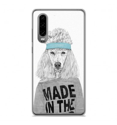Coque en silicone Huawei P30 - BS 80s Bitch