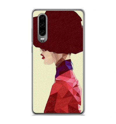 Coque en silicone Huawei P30 - ML Chic Hat