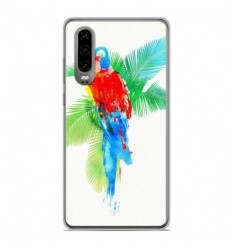 Coque en silicone Huawei P30 - RF Tropical party