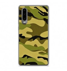 Coque en silicone Huawei P30 - Camouflage