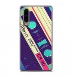 Coque en silicone Huawei P30 - Cassette Vintage