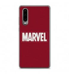Coque en silicone Huawei P30 - Marvel