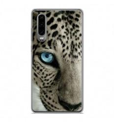 Coque en silicone Huawei P30 - Oeil de léopard