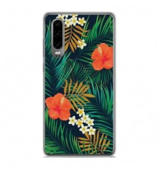 Coque en silicone Huawei P30 - Tropical