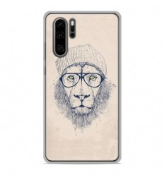 Coque en silicone Huawei P30 Pro - BS Cool Lion