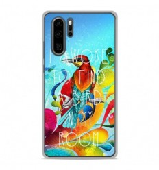 Coque en silicone Huawei P30 Pro - Mocking bird