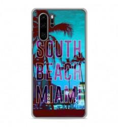 Coque en silicone Huawei P30 Pro - South beach miami