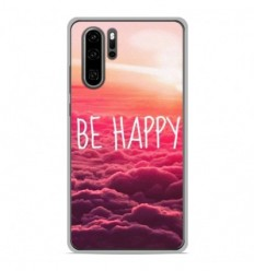 Coque en silicone Huawei P30 Pro - Be Happy nuage