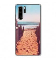 Coque en silicone Huawei P30 Pro - Chemin de plage