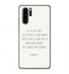 Coque en silicone Huawei P30 Pro - Citation 01