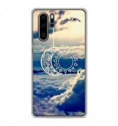 Coque en silicone Huawei P30 Pro - Lune soleil