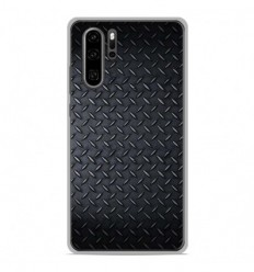 Coque en silicone Huawei P30 Pro - Texture metal