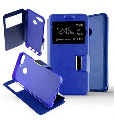 Etui Folio Huawei Honor 7C - Bleu