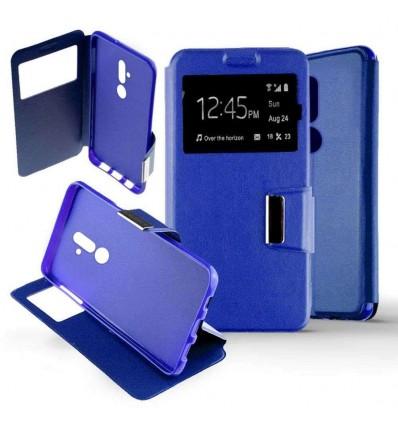 Etui Folio Huawei Mate 20 Lite - Bleu
