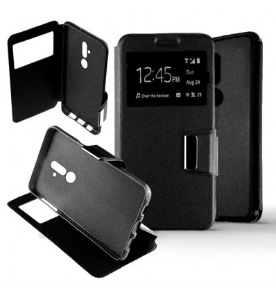 Etui Folio Huawei Mate 20 Lite - Noir