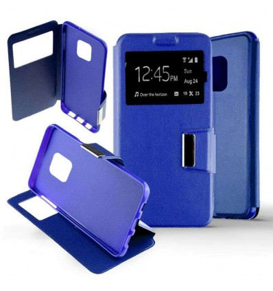 Etui Folio Huawei Mate 20 Pro - Bleu
