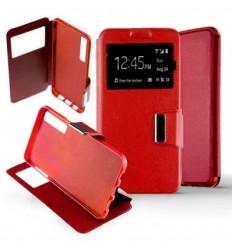 Etui Folio Samsung Galaxy A7 2018 - Rouge