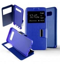 Etui Folio Samsung Galaxy S10 - Bleu